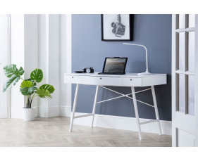 Milman Home Office Desk (White)