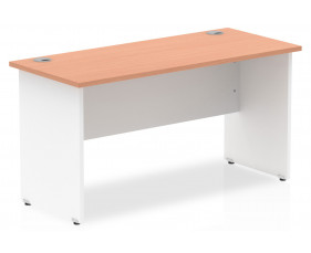 Vitali Duo Panel End Narrow Rectangular Desk