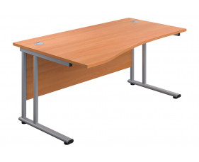 Proteus II Left Hand Wave Desk
