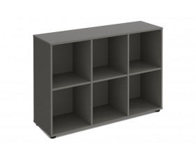 Brick Home Office 6 Cube Storage Unit (Horizontal)