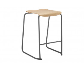 Hille SE Ergonomic Classroom Stool With Wooden Seat