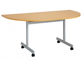 Spear Semi-Circular Flip Top Tables