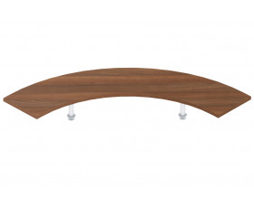 G - Welcome wooden corner shelf
