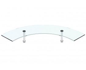 H - Welcome glass corner shelf