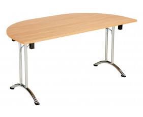 Alliance Semi-Circular Folding Tables