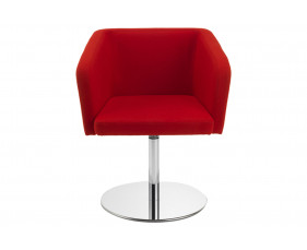 Berard Armchair With Swivel Disk Base