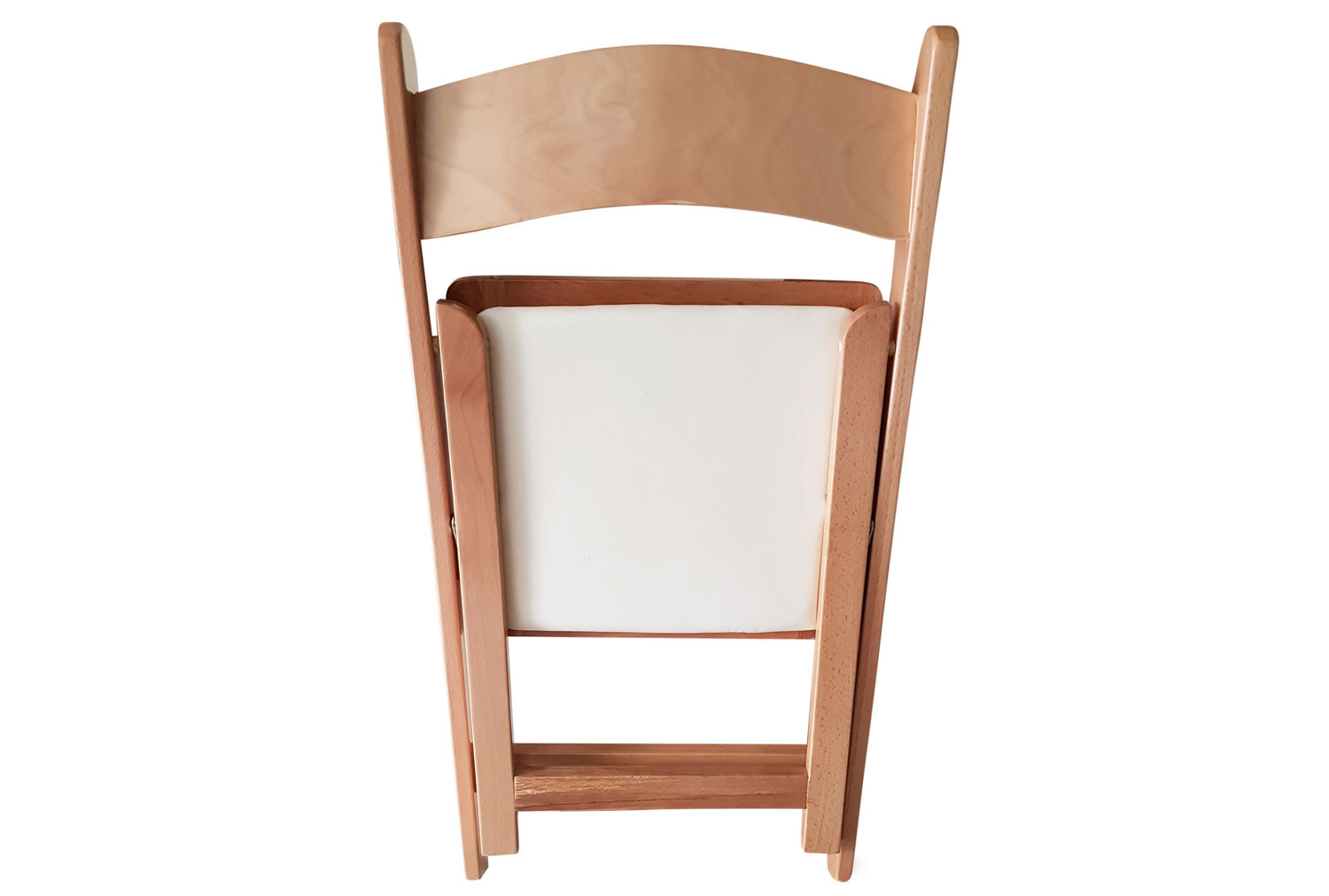 Pack Of 4 Corrigan Wooden Folding Chairs with Seat Pads