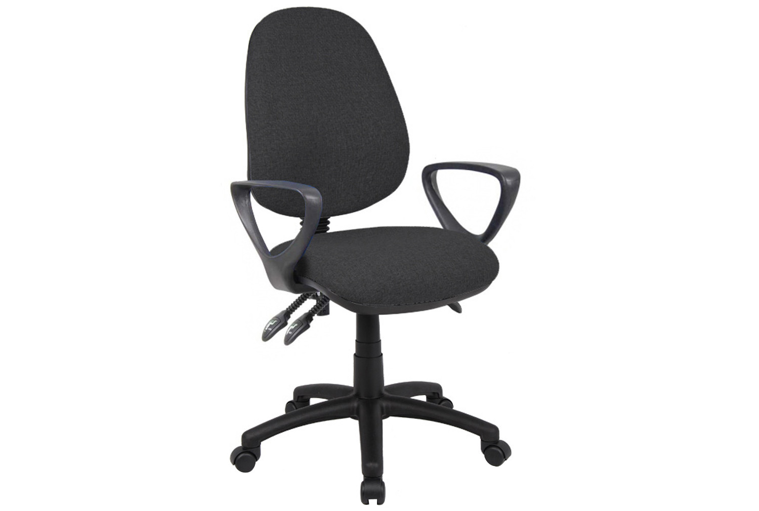 Vantage 3 Lever Operator Chair With Fixed Arms