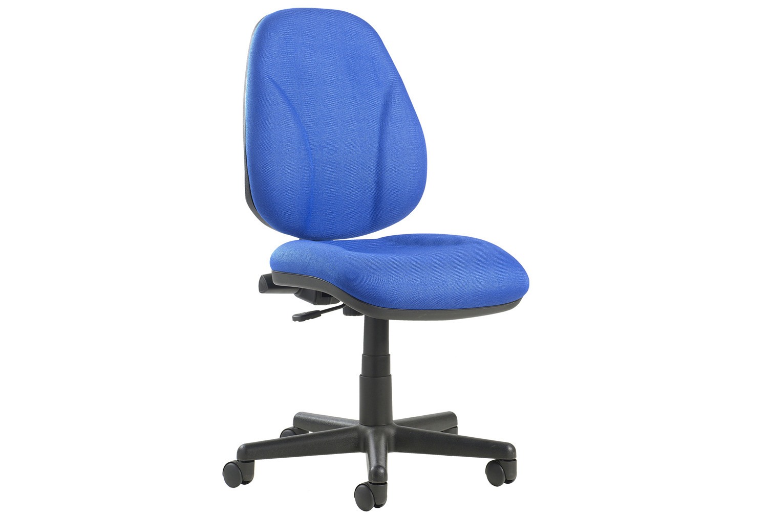 Full Lumbar 1 Lever Operator Chair No Arms