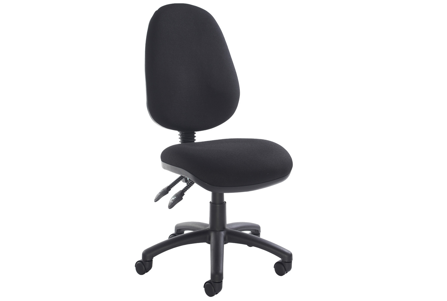 Full Lumbar 2 Lever Operator Chair No Arms