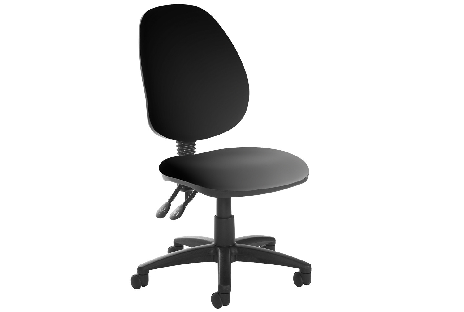 Vantage Plus High Back Pcb Vinyl Operator Chair No Arms