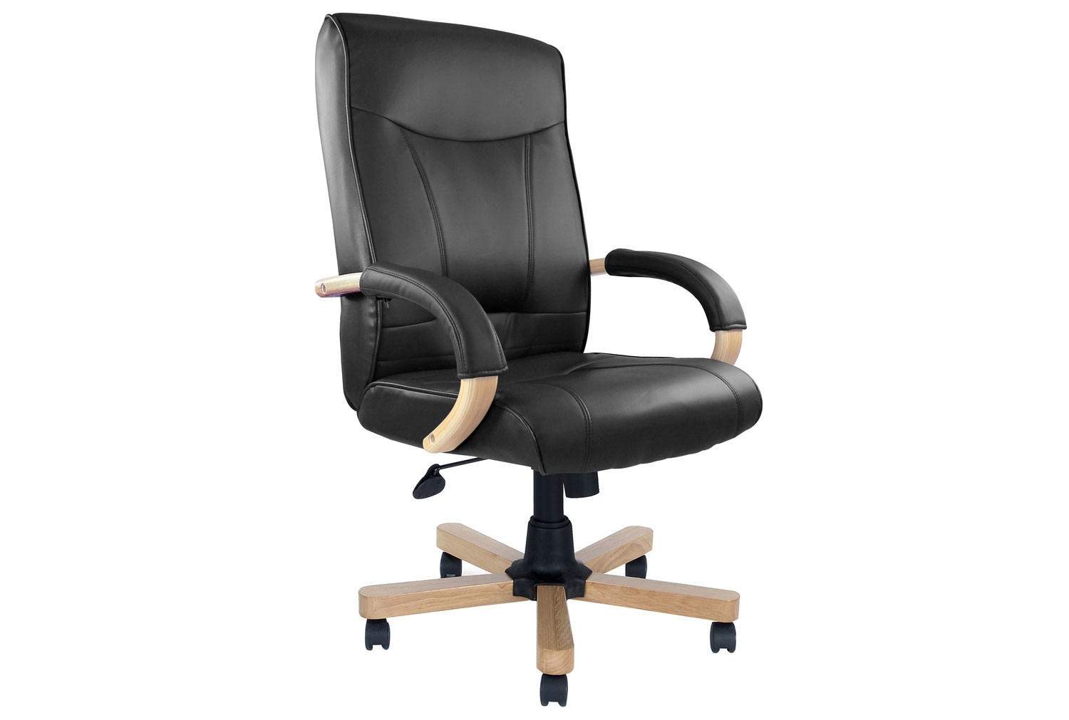 Drave High Back Executive Armchair (Leather)