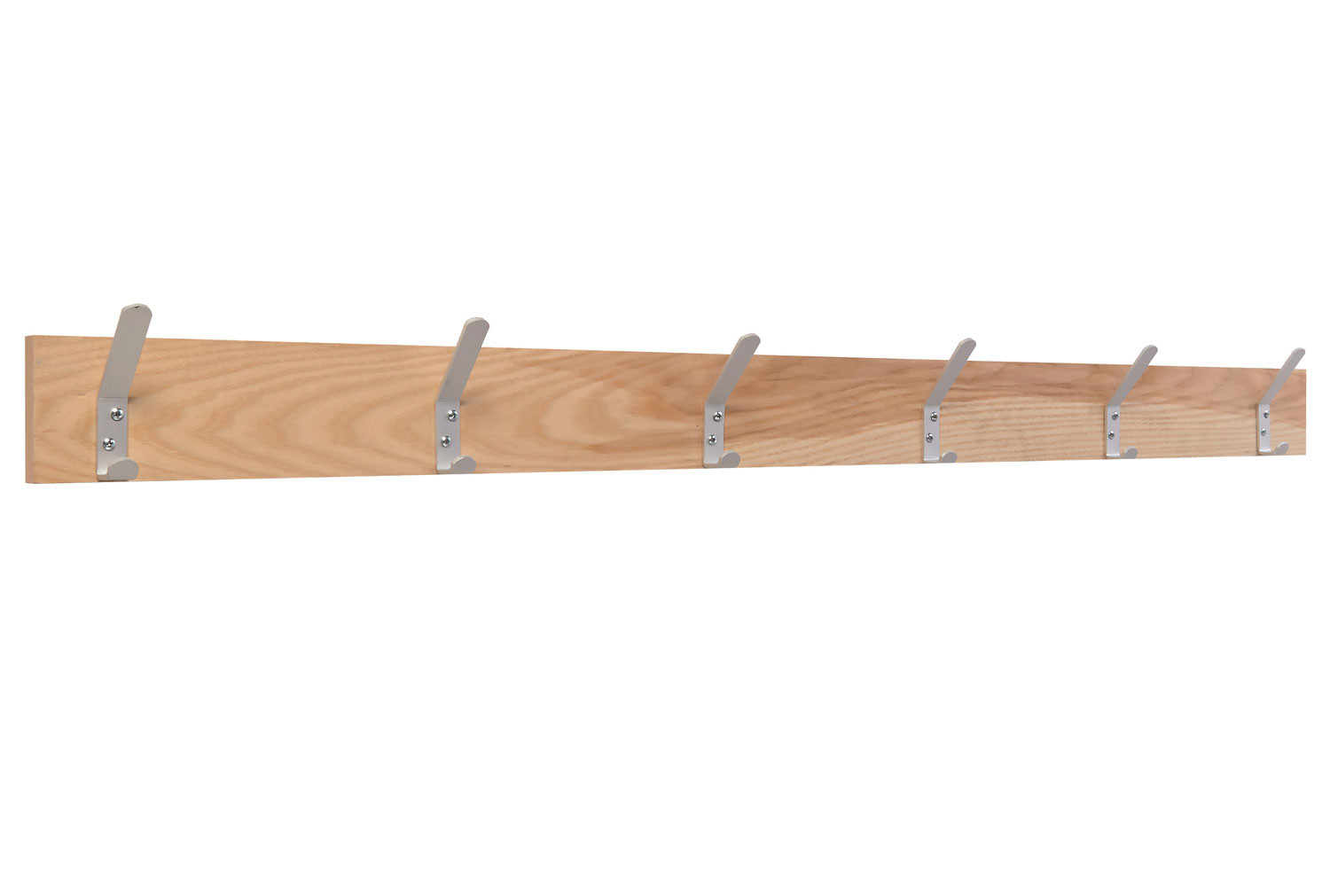 QMP Wall Mounted Coat Rail With 6 Hooks