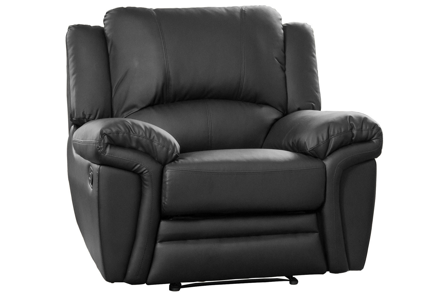 Clavet Leather Recliner Armchair