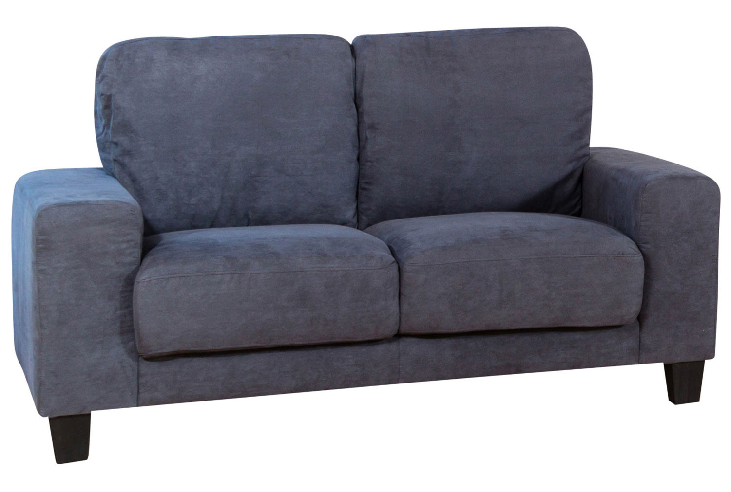 Isner Faux Suede 2 Seater Sofa