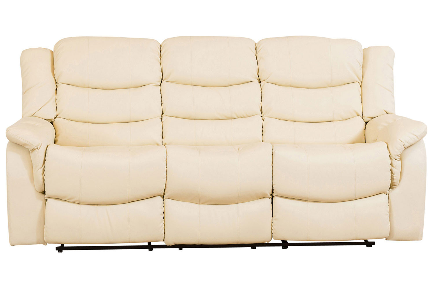 Hunter Leather 3 Seater Recliner Sofa