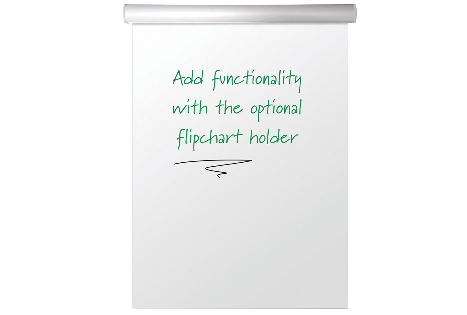 Next-Day Write-On Magnetic Flip Pad Holder