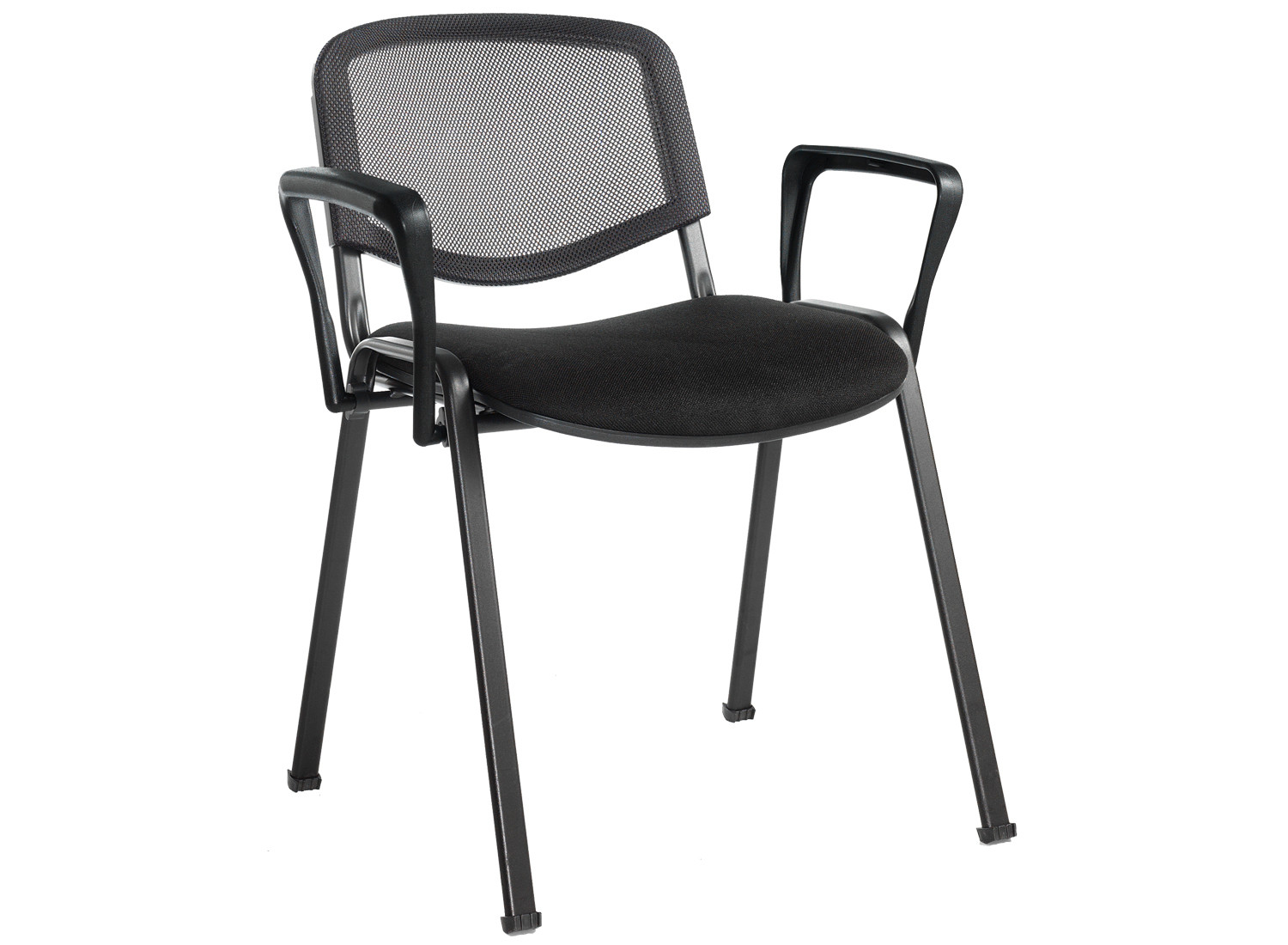 Mesh Back Conference Chair With Arms