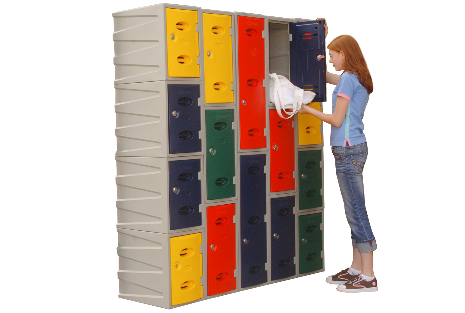 Deluxe Plastic Lockers
