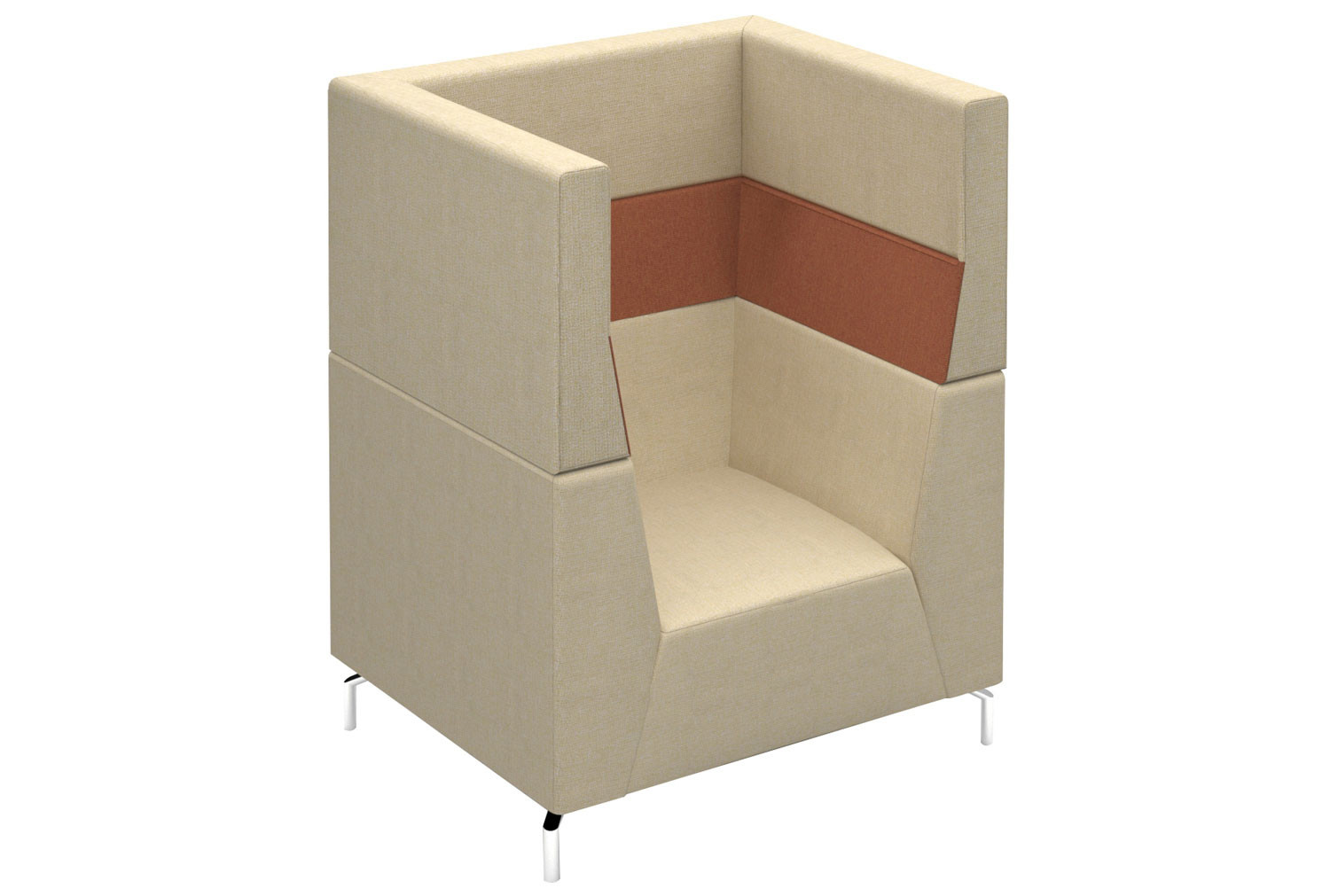 Plato High Armchair