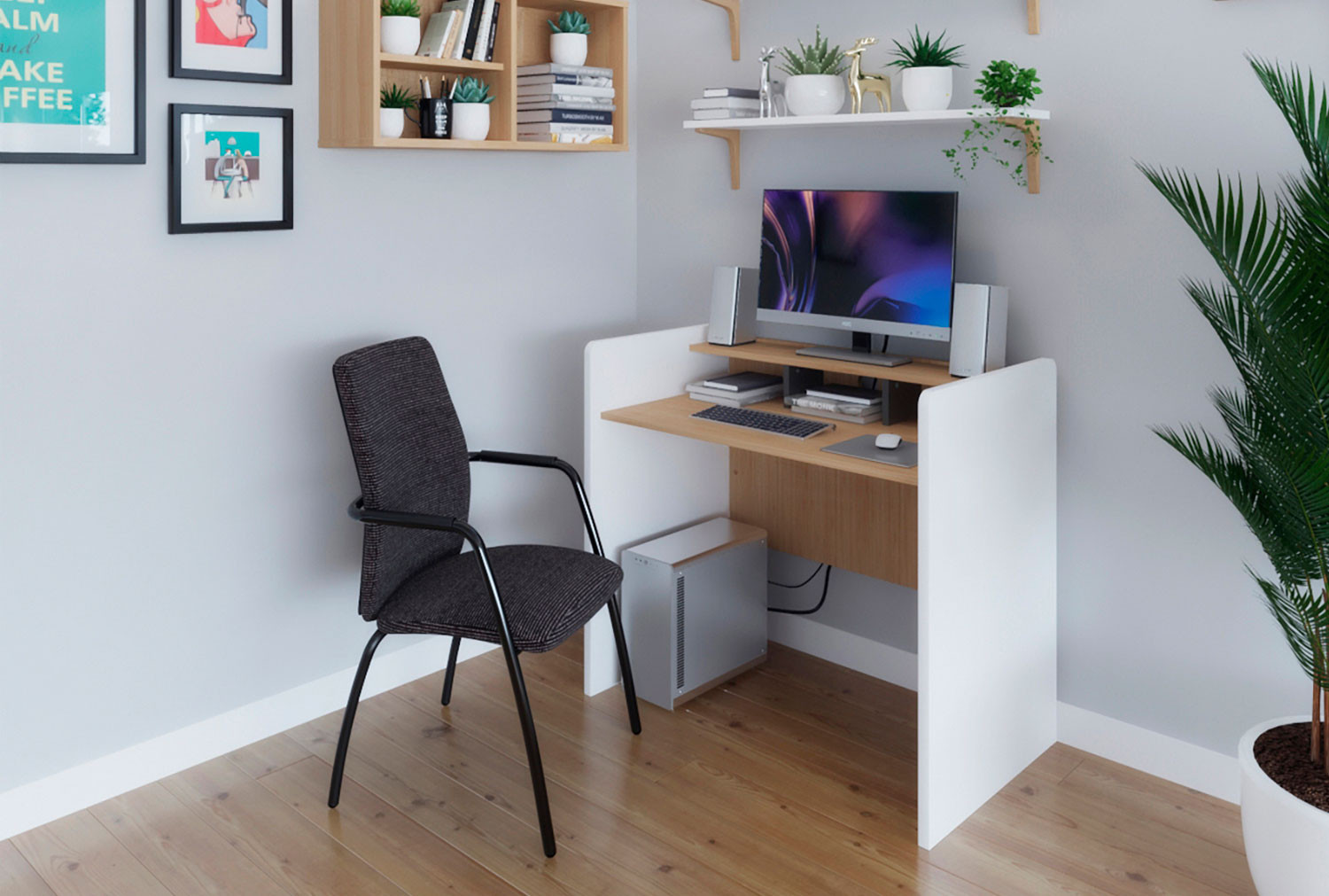 Carlin Home Office Workstation