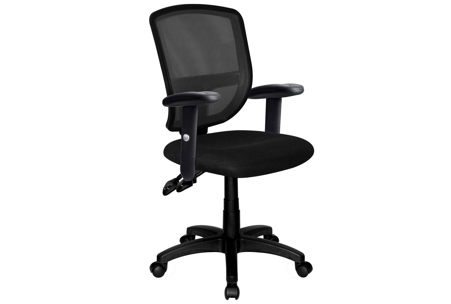 Lippe Mesh Back Operator Chair With Adjustable Arms