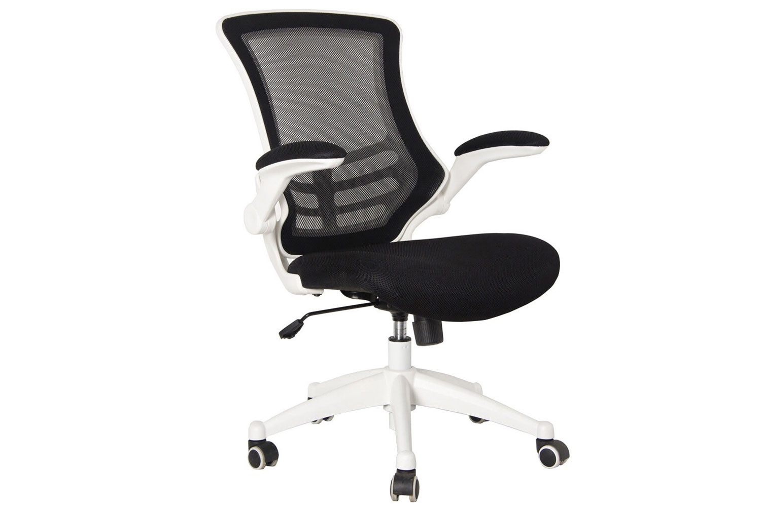 Moon Mesh Back Operator Chair With White Base
