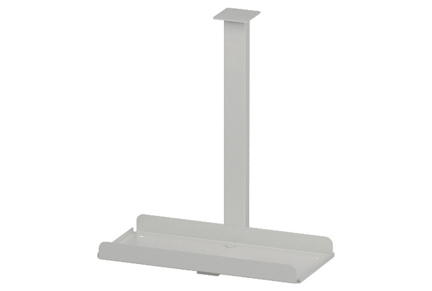 Pamola Silver Desk Mounted PC Holder