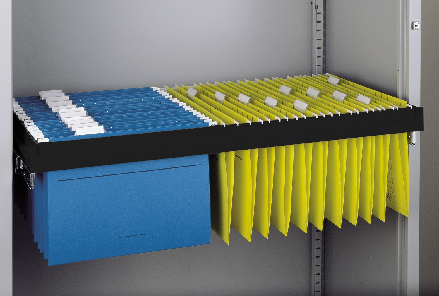 Roll Out Filing Frame For Economy Tambour Cupboard