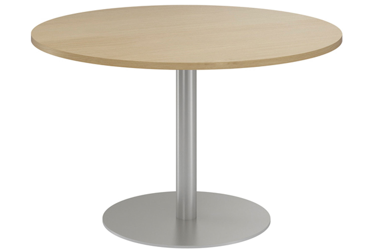 Lozano Circular Meeting Table (Natural Oak)
