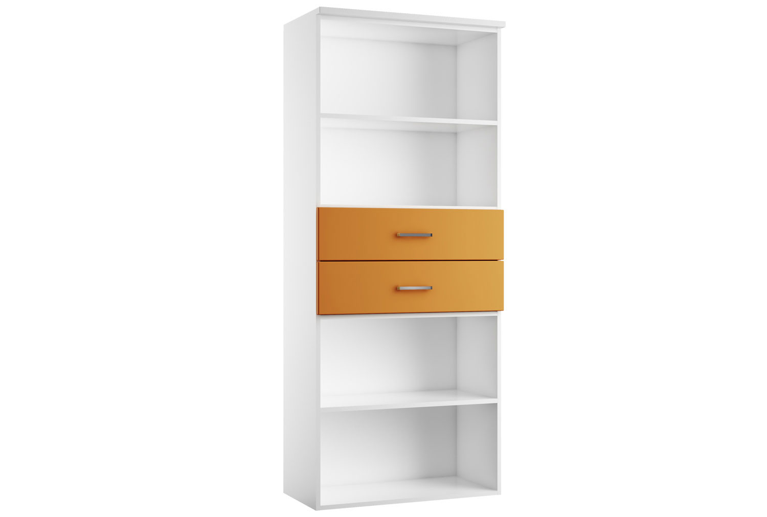 Next-Day Solero Combination Cupboard Type 1 Orange