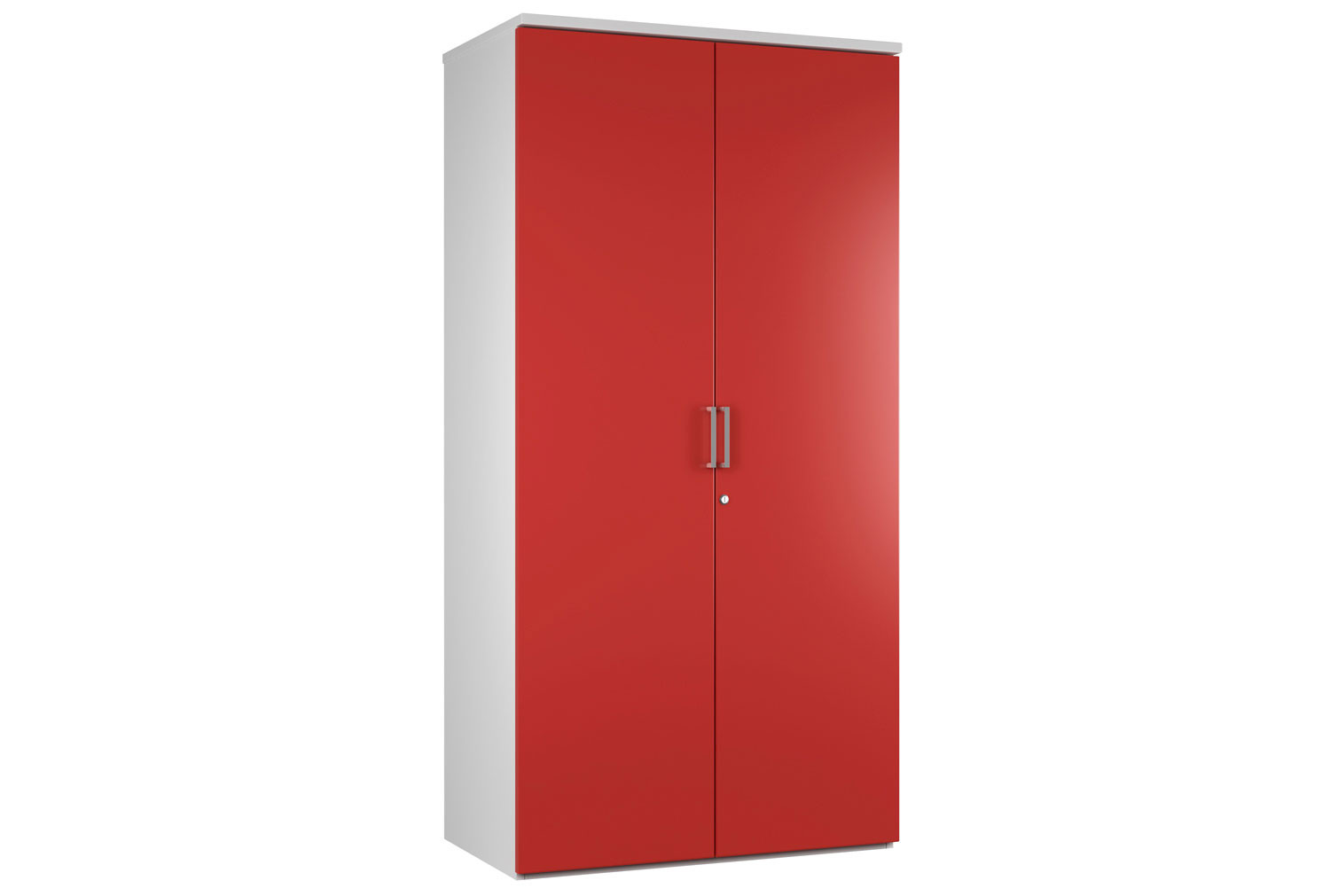 Solero 4 Shelf Cupboard (Red)