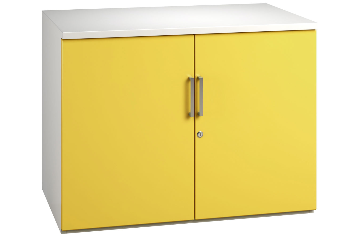 Solero 1 Shelf Cupboard (Yellow)
