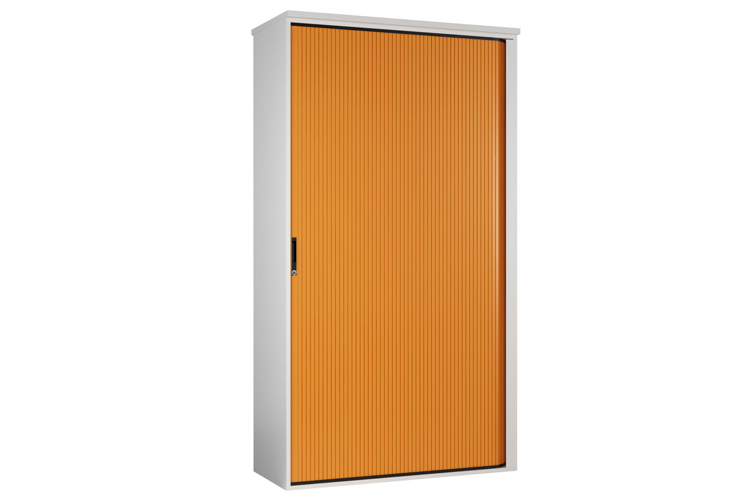 Solero Tall Tambour Unit (Orange)