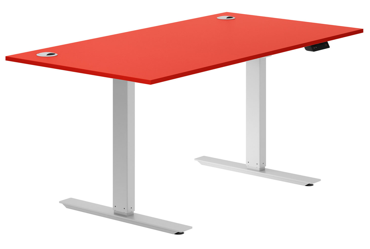 Solero Sit & Stand Desk (Red)