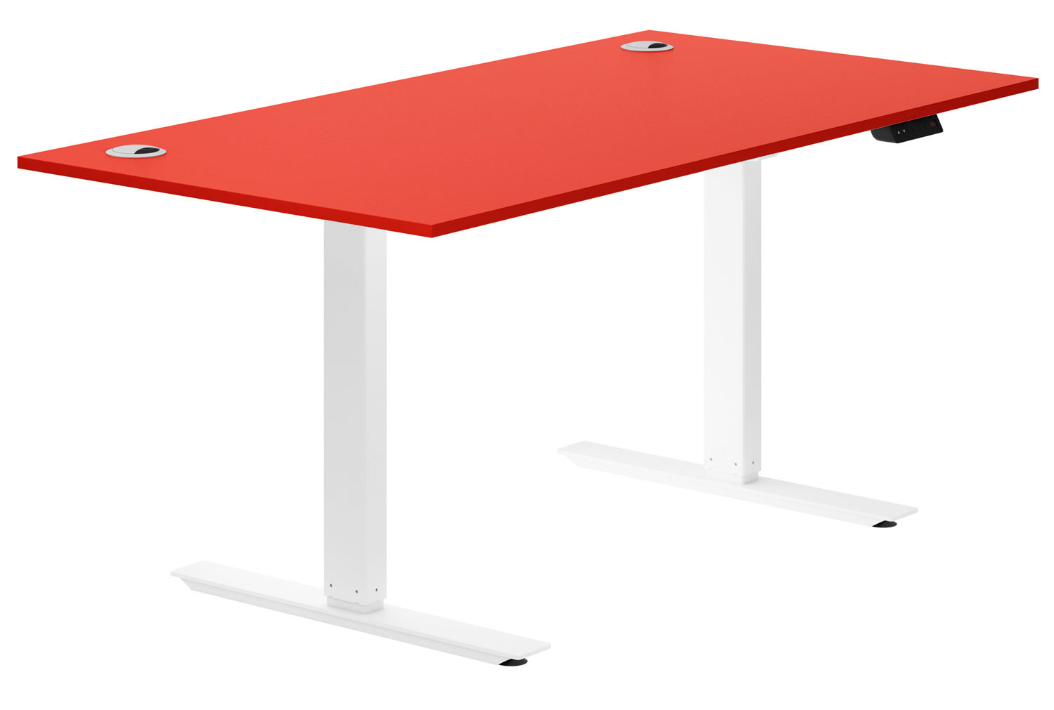 Campos Sit & Stand Desk (Red)