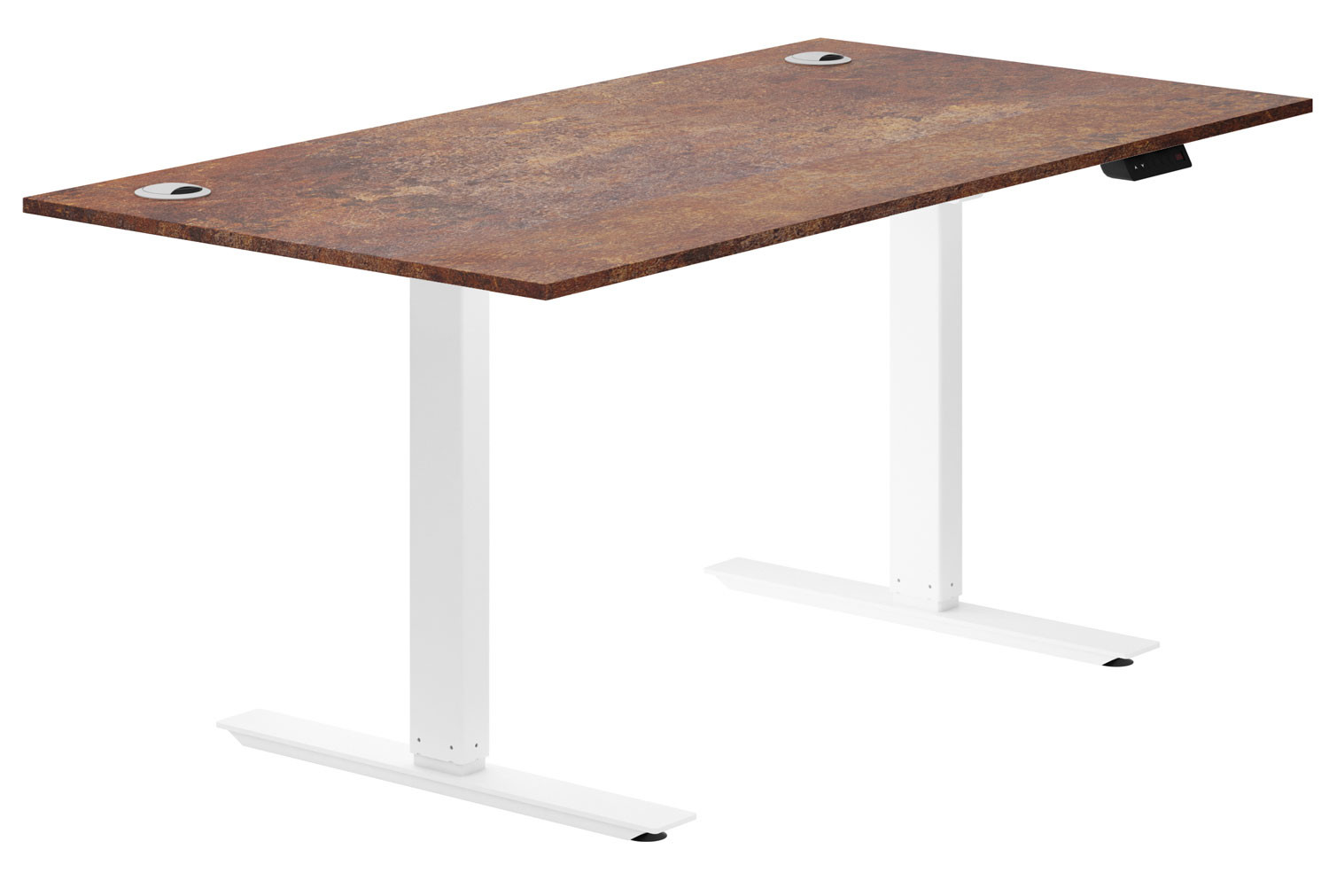 Respond Sit & Stand Desk (Rusted Steel)
