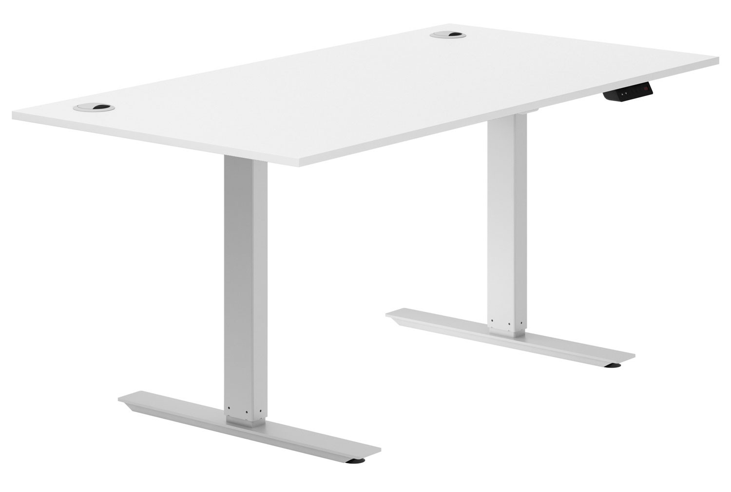 Campos Sit & Stand Desk (White)
