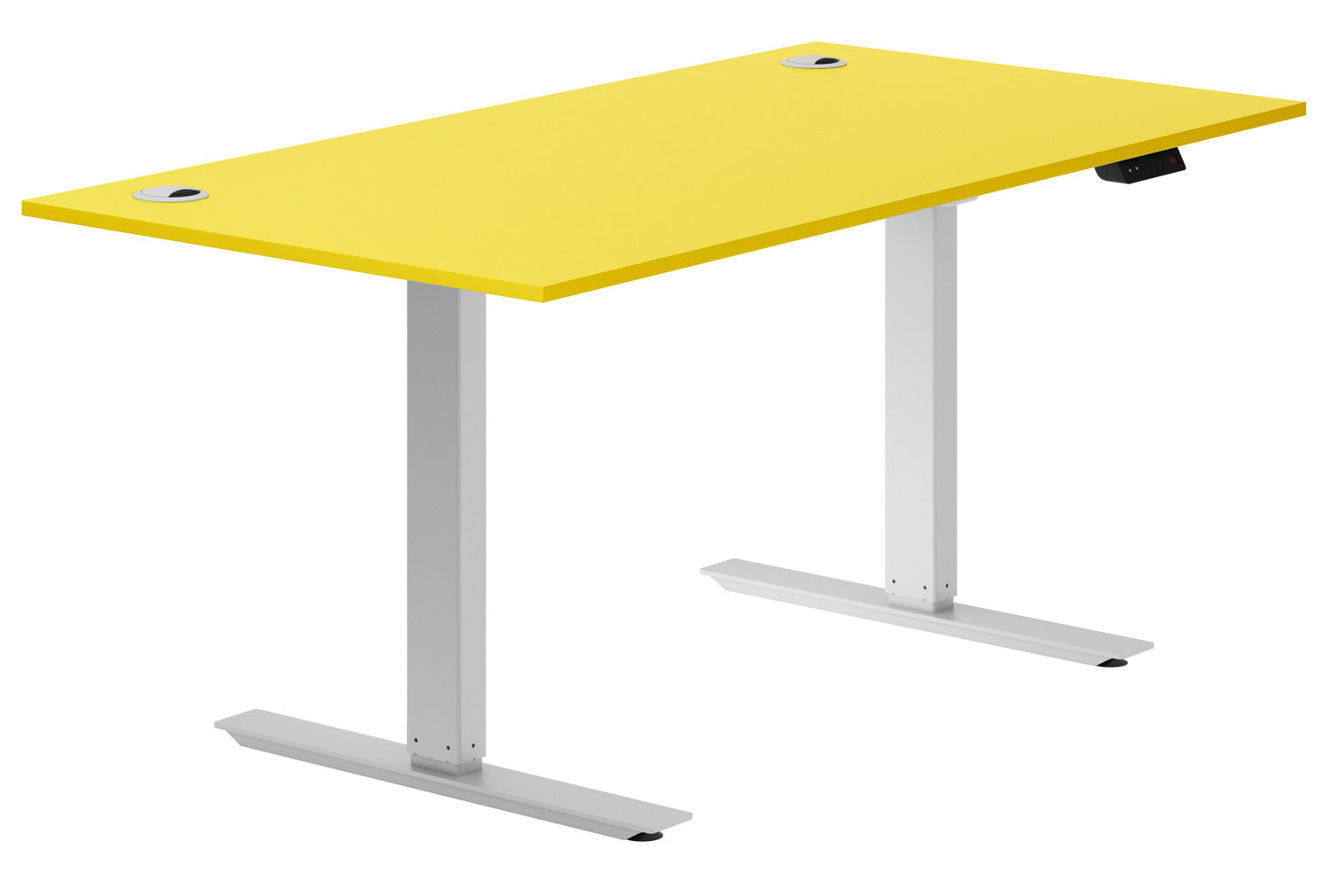 Campos Sit & Stand Desk (Yellow)