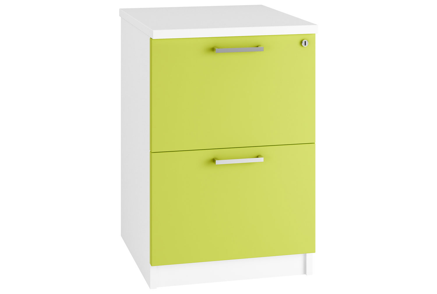 Next-Day Campos 2 Drawer Filing Cabinet (Green)