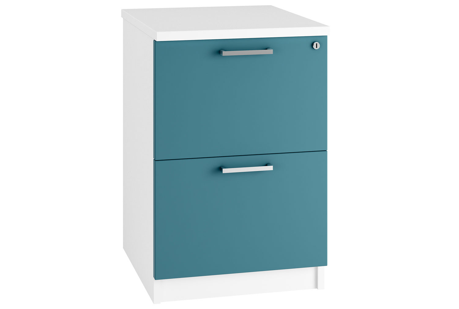 Campos 2 Drawer Filing Cabinet (Light Blue)