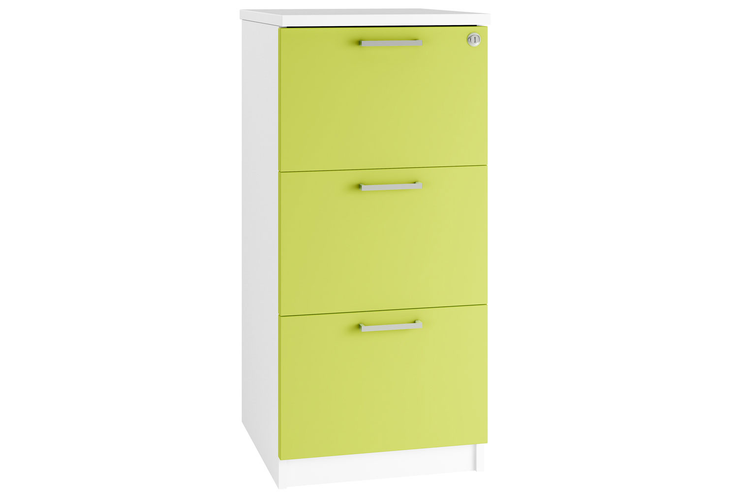 Campos 3 Drawer Filing Cabinet (Green)