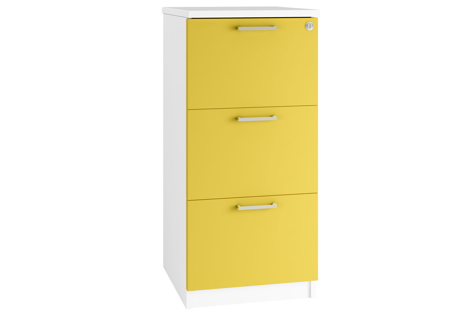 Campos 3 Drawer Filing Cabinet (Yellow)