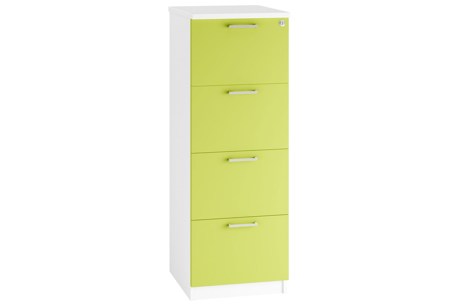 Campos 4 Drawer Filing Cabinet (Green)