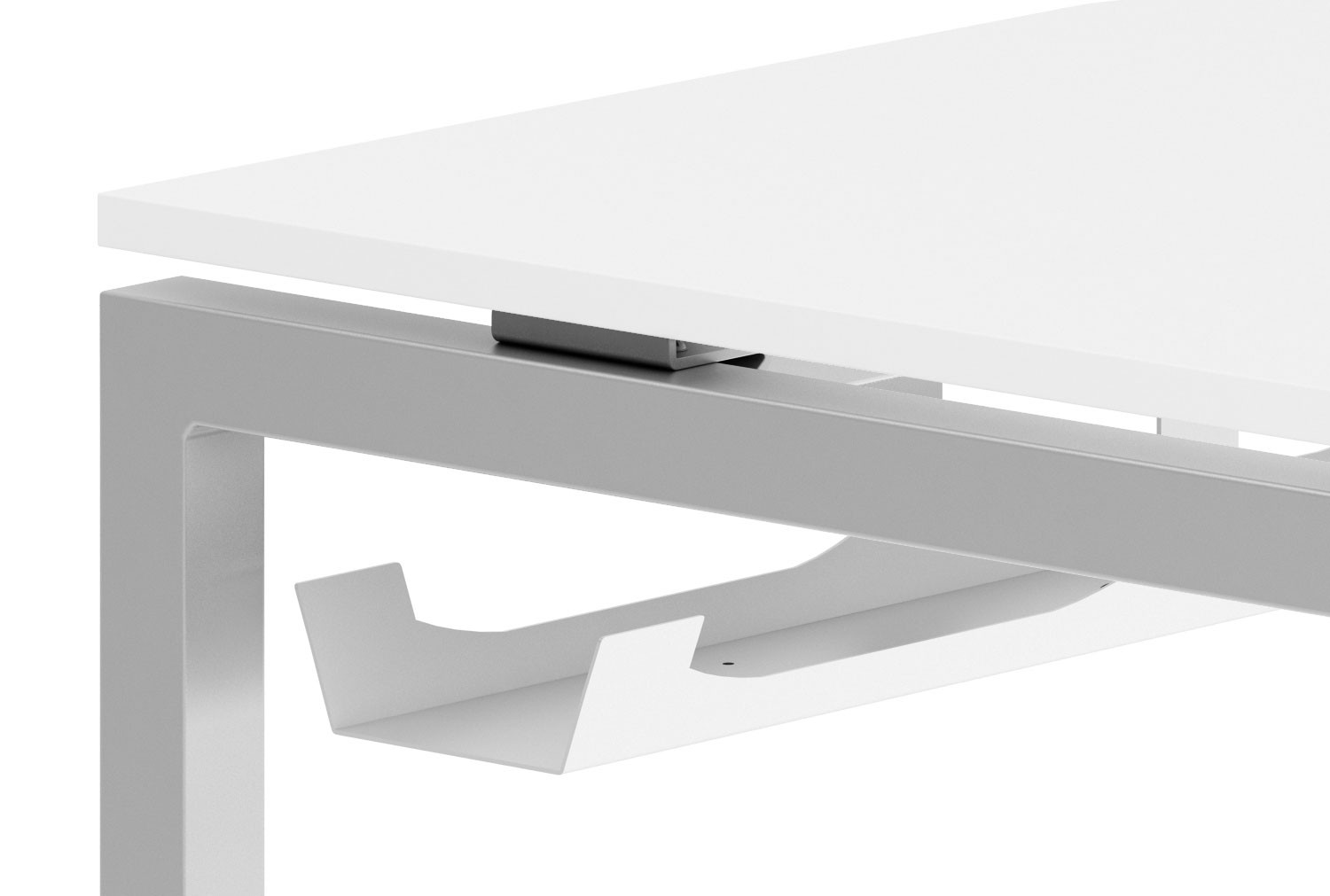 Steel Cable Tray For Single Bench Desks