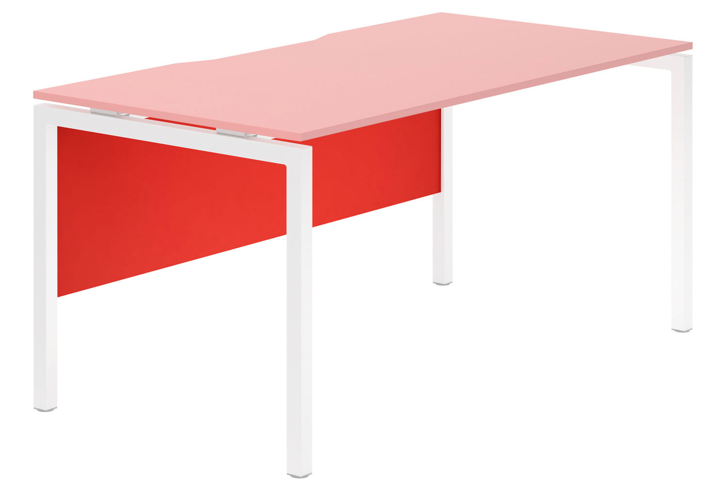 Campos Modesty Panel For Single Bench Desks (Red)