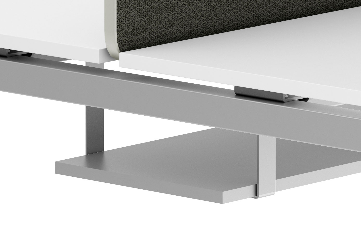Mfc Cable Tray For Back 2 Back Bench Desks