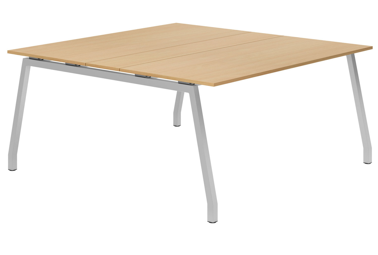 Lozano A-Frame 6-8 Person Meeting Table (Beech)
