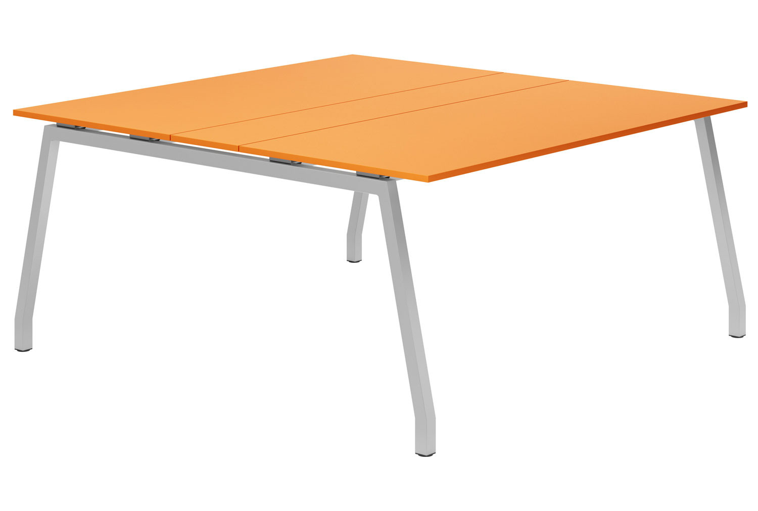 Campos A-Frame 6-8 Person Meeting Table (Orange)