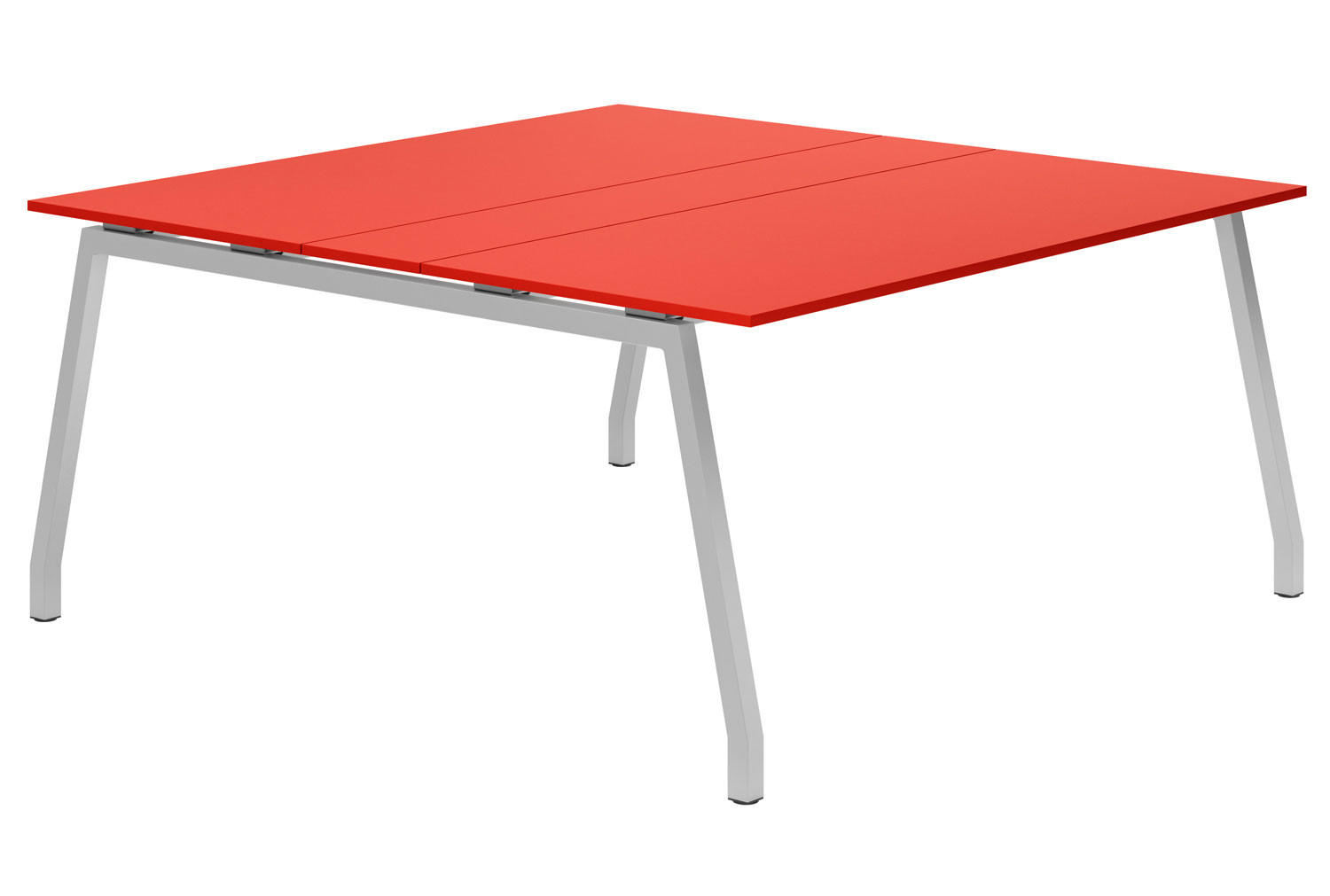 Campos A-Frame 6-8 Person Meeting Table (Red)